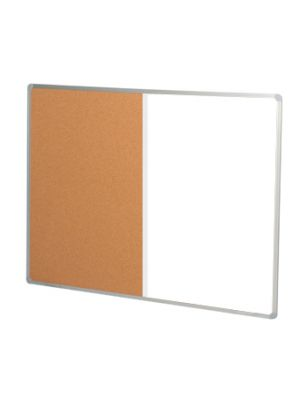 Combination Whiteboard Corkboard Wallmounted